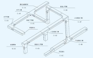 槽式桥架空间